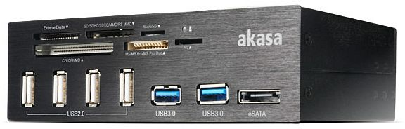 Akasa InterConnect Pro, USB 3.0 (AK-HC-05U3BK)