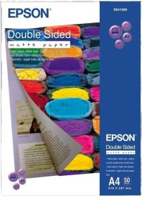 Epson Double Sided Matte Papier A4, 178g/m², 50 Blatt (S041569)