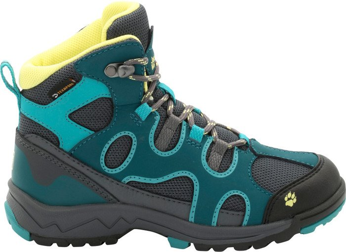 Jack Wolfskin Crosswind Texapore Mid dark spruce (Junior)
