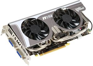 MSI N560GTX-Ti Twin Frozr II 2GD5/OC, GeForce GTX 560 Ti, 2GB GDDR5, 2x DVI, Mini HDMI (V238-248R)