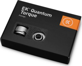 "EK Water Blocks Quantum Line EK-Quantum Torque HDC 16 Fitting 1/4"" auf 16mm, Satin Titanium, 6er-Pack"