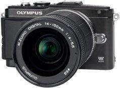Olympus PEN E-PL5 schwarz mit Objektiv M.Zuiko digital ED 14-150mm