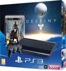 Sony PlayStation 3 Super Slim - 500GB Destiny Bundle schwarz