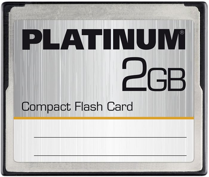 BestMedia Platinum CompactFlash Card (CF) 2GB (177005)