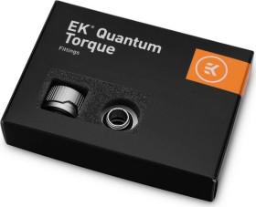 """EK Water Blocks Quantum Line EK-Quantum Torque HDC 14 Fitting 1/4"""" auf 14mm, Satin Titanium, 6er-Pack (3831109824573)"""