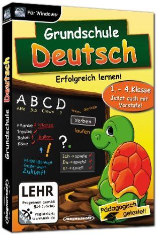 Magnussoft Grundschule Deutsch - Erfolgreich lernen! (deutsch) (PC)