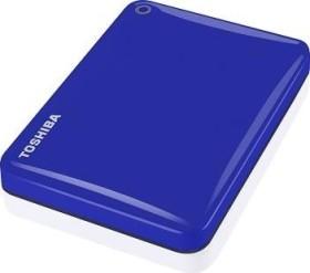 Toshiba Stor.E Canvio Connect II blau 500GB, USB 3.0 Micro-B (HDTC805EL3AA)