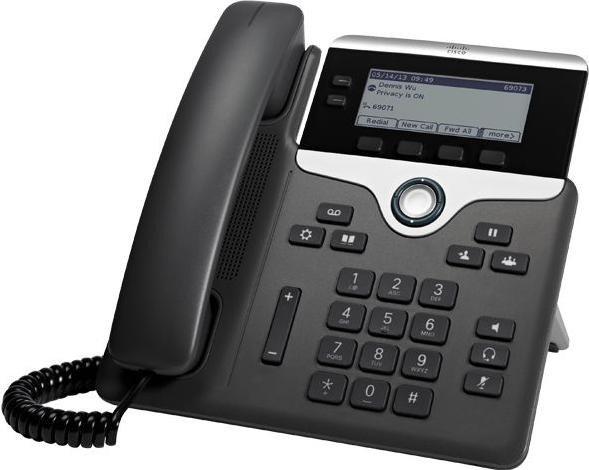 Cisco 7821 IP Phone 3rd Party Call Control schwarz (CP-7821-3PCC-K9=)