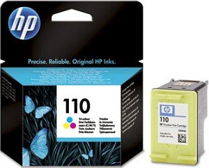 HP 110 Printhead with ink coloured (CB304AE)