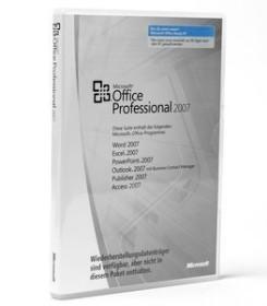 Microsoft Office 2007 Professional DSP/SB, MLK, 1er-Pack (englisch) (PC) (269-11618)