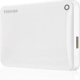 Toshiba Stor.E Canvio Connect II weiß 500GB, USB 3.0 Micro-B (HDTC805EW3AA)