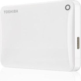 Toshiba Stor.E Canvio Connect II weiß 1TB, USB 3.0 Micro-B (HDTC810EW3AA)