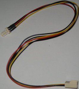 Various molex extension cable, 30cm -- provided by bepixelung.org - see http://bepixelung.org/9825 for copyright and usage information