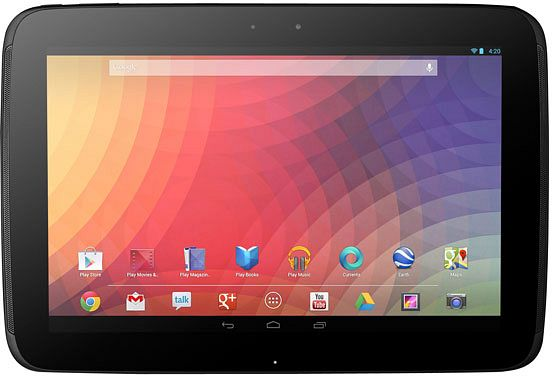 Google Nexus 10 16GB (GT-P8110HAADBT)