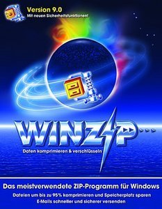 WinZip: WinZip 9.0 Combo - 5 User (PC) (WINZIPG90COMMLP6)
