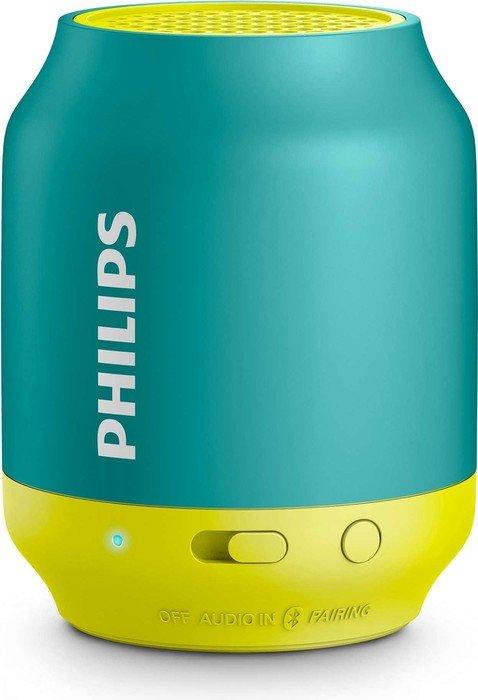 Philips BT50A türkis/gelb (BT50A/00)