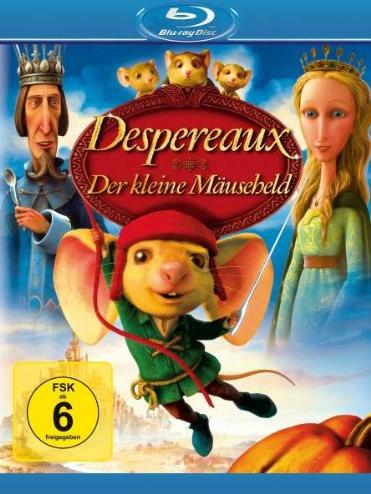 Despereaux - Der kleine Mäuseheld (Blu-ray) -- via Amazon Partnerprogramm