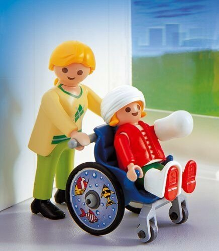 playmobil City Action - Kinderrollstuhl (4407) -- via Amazon Partnerprogramm