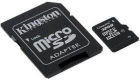 Kingston microSDHC 32GB Kit, Class 4 (SDC4/32GB)
