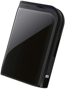Buffalo Ministation extreme black 500GB, USB 3.0 (HD-PZ500U3B)