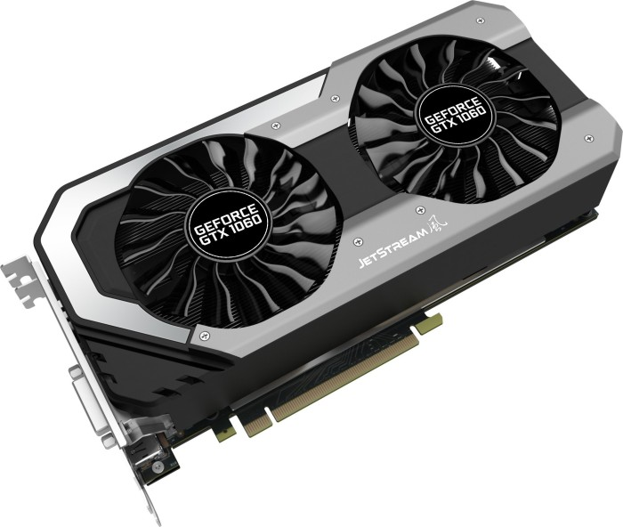Palit GeForce GTX 1060 JetStream, 6GB GDDR5, DVI, HDMI, 3x DisplayPort (NE51060015J9J)