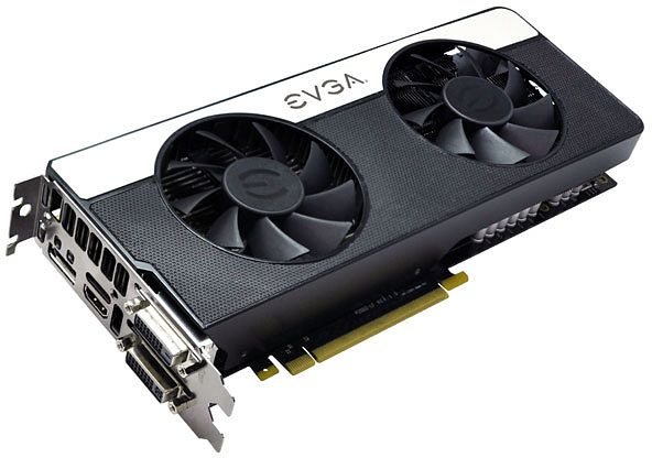 EVGA GeForce GTX 670 FTW signature 2, 2GB GDDR5, 2x DVI, HDMI, DisplayPort (02G-P4-3677)
