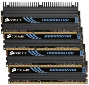 Corsair XMS3 Dominator DIMM Kit  16GB, DDR3-1866, CL9-10-9-27 (CMP16GX3M4X1866C9)