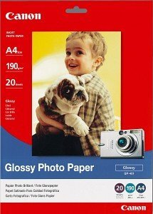 Canon GP-401 photo paper A4, 190g, 20 sheets (9157A004)