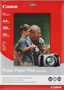 Canon SG-101 photo paper Plus A4, 260g, 20 sheets (8386A005)