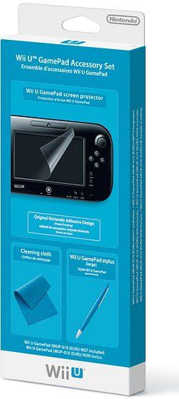 nintendo wii u gamepad accessory set wiiu 2311066. Black Bedroom Furniture Sets. Home Design Ideas