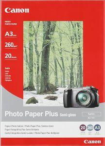 Canon SG-101 Fotopapier Plus A3, 260g, 20 Blatt (8386A009)