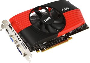 MSI N450GTS-MD1GD5, GeForce GTS 450, 1GB GDDR5, VGA, DVI, HDMI (V236-227R)