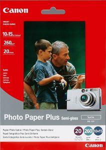 Canon SG-101 Fotopapier Plus 10x15, 260g, 20 Blatt (8386A006)