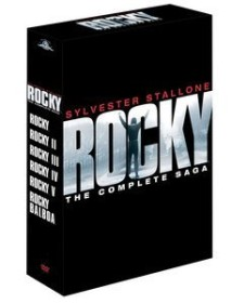 Rocky - The Complete Saga Box (movies 1-6)