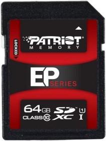 Patriot EP R50/W35 SDXC 64GB, UHS-I, Class 10 (PEF64GSXC10233)