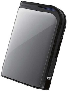Buffalo MiniStation Extreme HD-PZU3 silber 500GB, USB 3.0 Micro-B (HD-PZ500U3S)