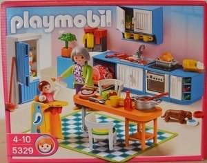 playmobil - Dollhouse - Kitchen (5329) -- Dieses Image became uns freundlicherweise of einem User for disposal putting