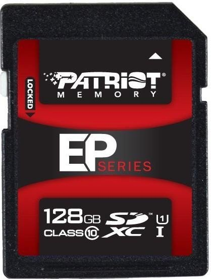Patriot EP Series SDXC 128GB, UHS-I/Class 10 (PEF128GSXC10233)