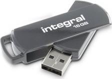 Integral 360 grau 16GB, USB-A 2.0 (INFD16GB360GY)