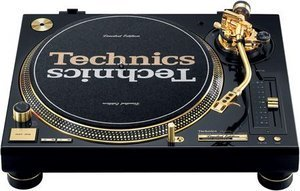 Technics SL-1200GLD Limited Gold Edition