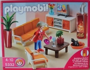 playmobil Dollhouse - Behagliches Wohnzimmer (5332) -- Dieses Bild wurde uns freundlicherweise von einem User zur Verfügung gestellt