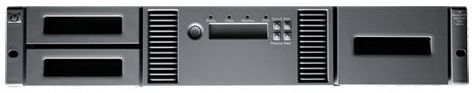 HP StoreEver 1/8 G2 LTO-6 Ultrium 6250 Fibre Channel 4Gb/s 2HE Rackmount Kit (M9A09A)