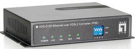 Level One VDS-0120, 100Base-TX auf VDSL2, PSE (533120)