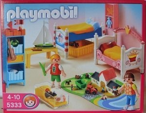 playmobil - Dollhouse - Children´s Room (5333) -- Dieses Image became uns freundlicherweise of einem User for disposal putting