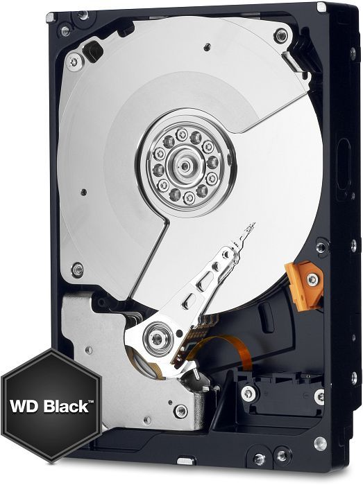 Western Digital Caviar Black 500GB, 64MB cache, SATA 6Gb/s (WD5003AZEX)