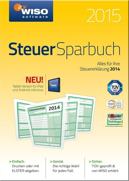 Buhl Data: WISO Steuer-Sparbuch 2015, ESD (niemiecki) (PC)