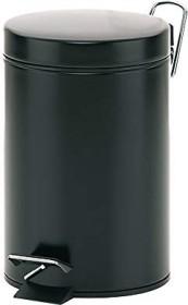 Kela matte 3l garbage can black (20903)