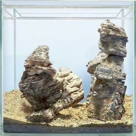 sera Scaper Cube 64, Hardscape-Set Grand Canyon (32336)