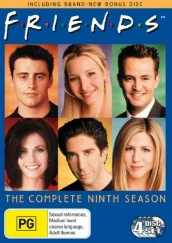 Friends Season 9 (UK) -- via Amazon Partnerprogramm