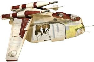 Revell Star Wars Republic Gunship (clone Wars) easykit (06667)